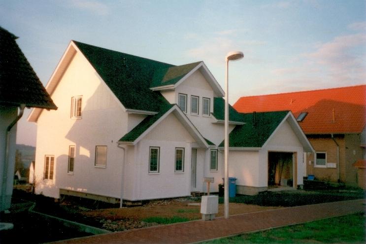 Einfamilienhaus - Holzständerbau