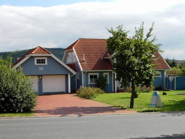 Landhaus - Holzständerbau